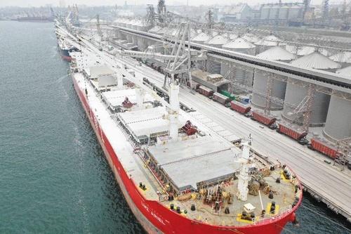 """""""Трансбалктермінал"""" вперше здійснив перевалку 4.1 млн тон вантажів фото, ілюстрація"""