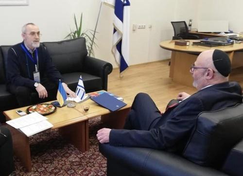 Кубів підпише угоду про зону вільної торгівлі між Україною та Ізраїлем фото, ілюстрація