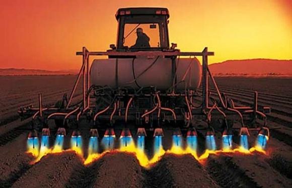 Украинская компания создала огненный культиватор фото, иллюстрация
