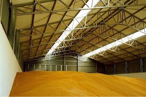 В Винницкой области фермерское хозяйство построило склад для зерна фото, иллюстрация