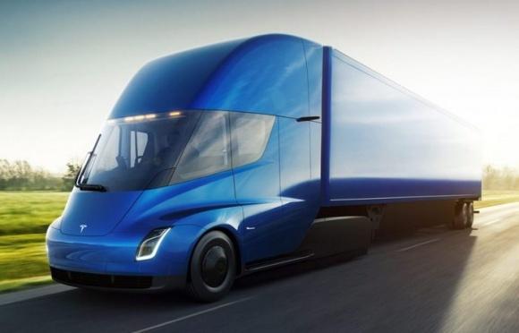 Першими замовниками електровантажівки Tesla Semi стали харчові компанії фото, ілюстрація