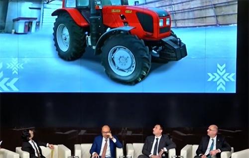 «Трактор майбутнього» випускають у Білорусі фото, ілюстрація