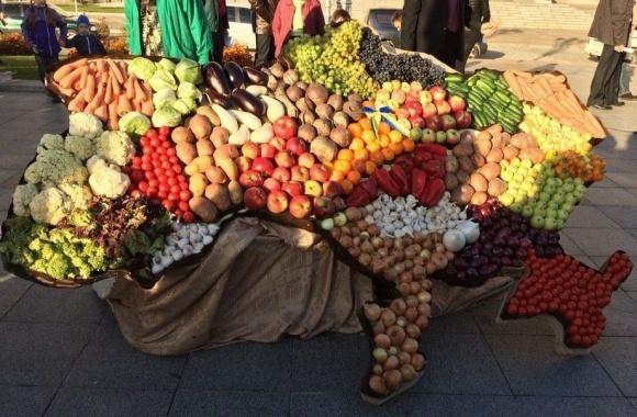 Що українці вирощують, їдять, експортують? Інфографіка фото, ілюстрація