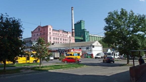 Работа Полтавского  комбината хлебопродуктов  полностью парализована фото, иллюстрация