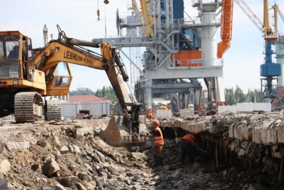 В Маріупольському порту триває будівництво зернового термінала  фото, ілюстрація