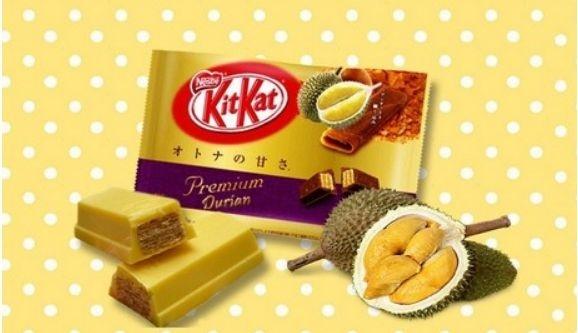 Nestle расширяет линейку Kit Kat. Теперь со вкусом дуриана фото, иллюстрация