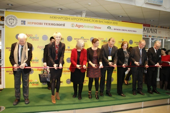 В Киеве открылась Международная агропромышленная выставка «Зерновые технологии» фото, иллюстрация