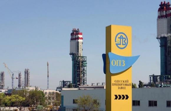 Одесский припортовый завод возобновил работу фото, иллюстрация