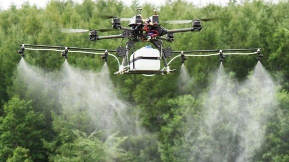 Бельгия изучает возможности использования распылительных дронов фото, иллюстрация