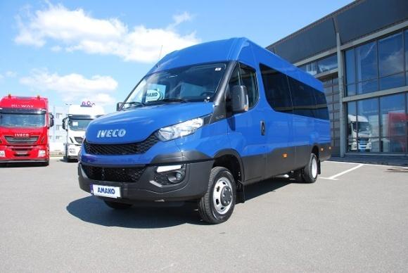 АМАКО представил 19-местный автобус на базе IVECO Daily фото, иллюстрация