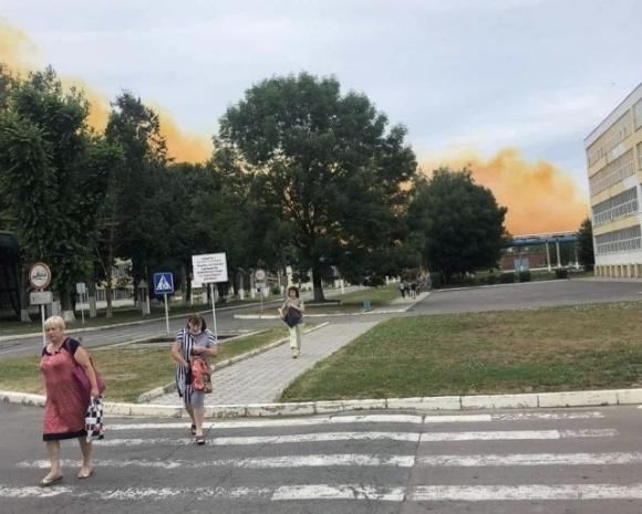 На Рівненщині cталася аварія на підприємстві з виробництва азотних добрив фото, ілюстрація