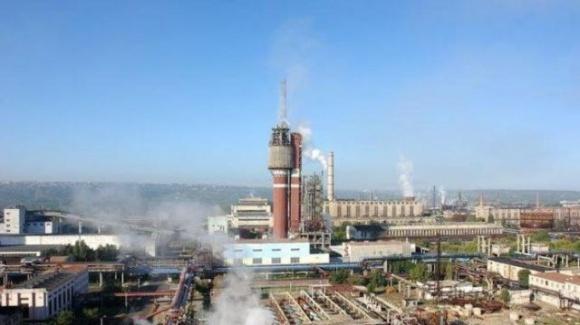 Пожар на территории «Северодонецкого «Азота» не повлияет на работу его производственных цехов, — Group DF фото, иллюстрация