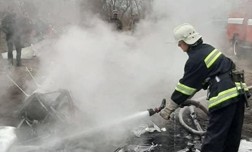 На Полтавщині розбився гелікоптер – загинув екс-міністр Кутовий фото, ілюстрація