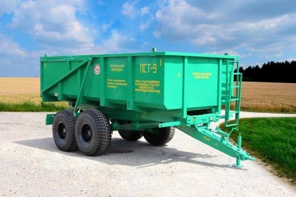 Білоруси планують виробляти тракторні причепи в Україні фото, ілюстрація