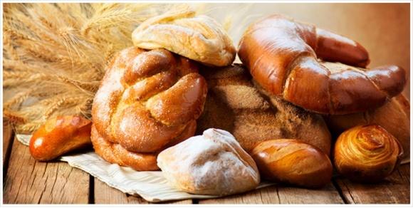60% производства хлебобулочных изделий находится в тени фото, иллюстрация