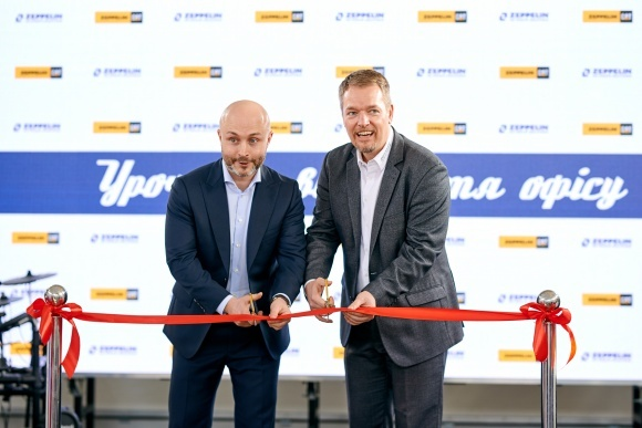 Компанія «Цеппелін Україна» відкрила новий офіс у Харківській області фото, ілюстрація