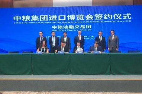 Компанії ViOil і COFCO International підписали угоду про співпрацю фото, ілюстрація