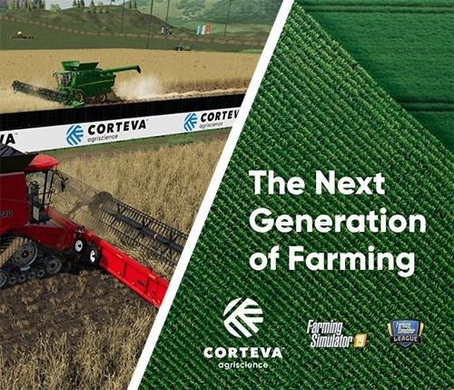 Corteva Agriscience стає головним спонсором Farming Simulator League фото, ілюстрація