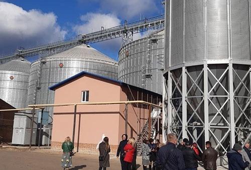 В Полтавской области ввели в эксплуатацию элеватор мощностью 40 тыс. тонн фото, иллюстрация