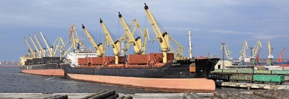 У морському порту «Ольвія» відкрито першу чергу спеціалізованого терміналу з перевалки сільгосппродукції фото, ілюстрація