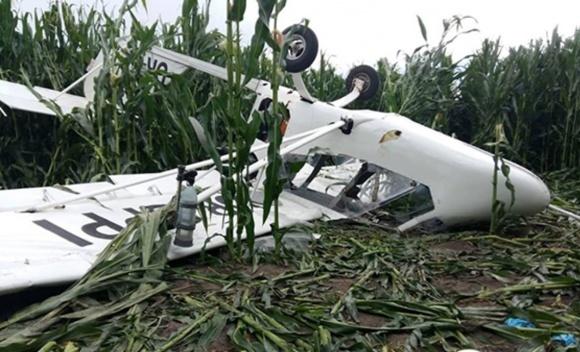 На Сумщині розбився літак, який обробляв кукурудзяне поле фото, ілюстрація