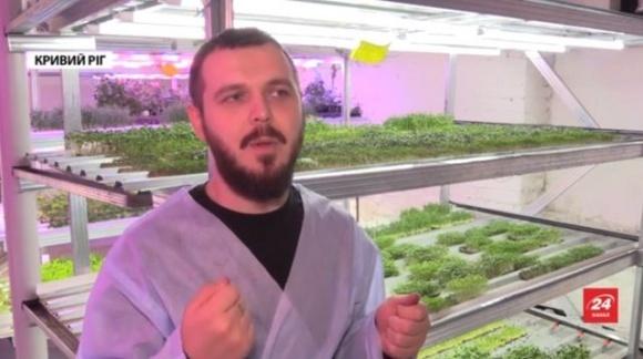 Від клубу — до фермерства: у Кривому Розі діджей вирощує мікрозелень фото, ілюстрація