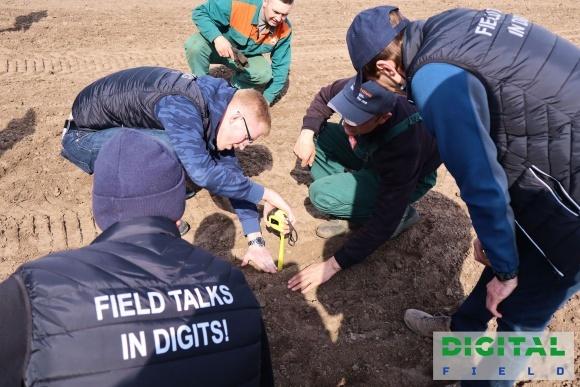 На полігоні аграрних інновацій Digital Field стартувала посівна фото, ілюстрація