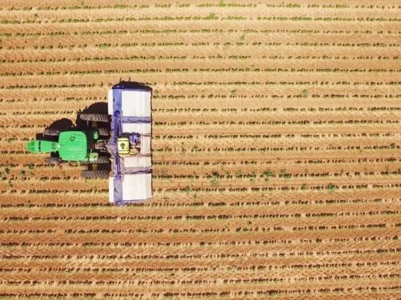 John Deere приобрела технологию, минимизирующу использование гербицидов фото, иллюстрация