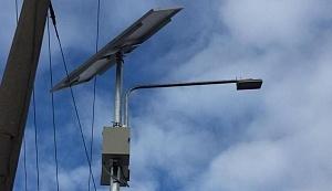 В Днепре солнечные батареи используют на пешеходных переходах фото, иллюстрация