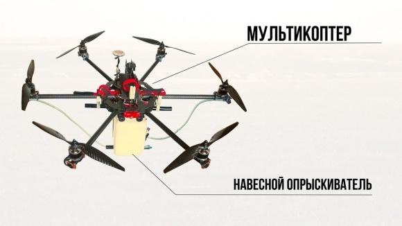 Агролайфхак: инструкция по конструированию дрона-опрыскивателя фото, иллюстрация