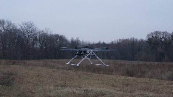 В Україні сконструювали дрон з вантажопідйомністю 30 кг фото, ілюстрація