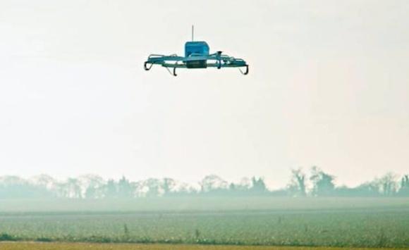 Дроны-курьеры Amazon начали доставлять заказы в сельхозместность фото, иллюстрация