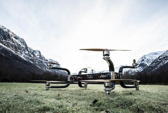Дрон Griff 300 может транспортировать грузы весом более 200 кг фото, иллюстрация