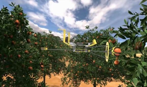 Механічний інтелект проти робочої сили: в Ізраїлі врожай збиратимуть спеціальними дронами фото, ілюстрація