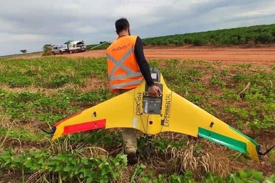 В Бразилии создали дрон, облетающий за один раз более 7000 га фото, иллюстрация