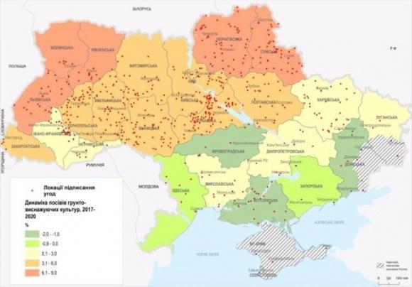 Более 40% всех сельхозземель Украины могут потерять плодородие фото, иллюстрация