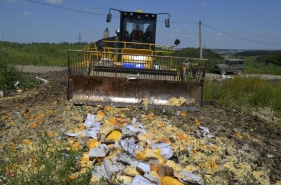 Россия продлила продовольственное эмбарго против Украины фото, иллюстрация