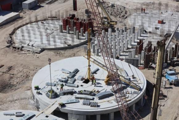 На терміналі EVT розпочато будівництво силосів для зберігання зернових фото, ілюстрація