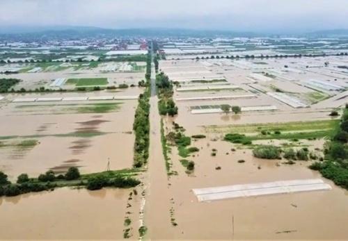 На заході України зберігається загроза масштабного затоплення сільгоспугідь фото, ілюстрація