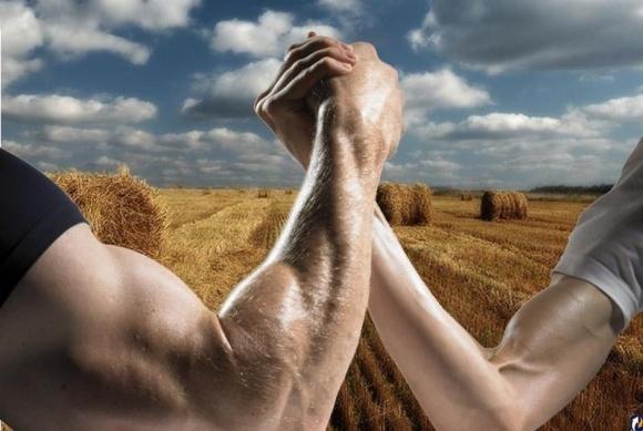 Агрохолдинги против частного фермерства фото, иллюстрация