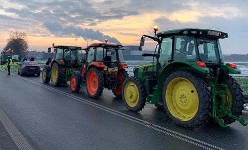 У Польщі почалося #Агроповстання 2019: фермери блокують дороги фото, ілюстрація