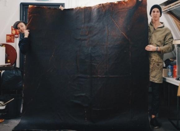 Голландський стартап переробляє фрукти в шкіру фото, ілюстрація