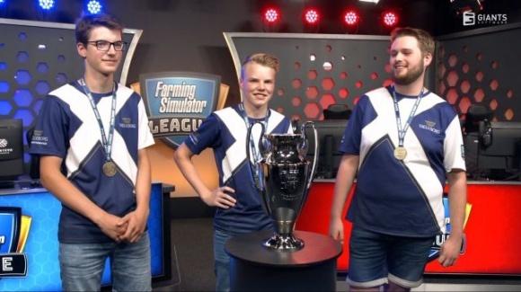 Команда Trelleborg виграла фінал Ліги Farming Simulator, що спонсорується Corteva фото, ілюстрація