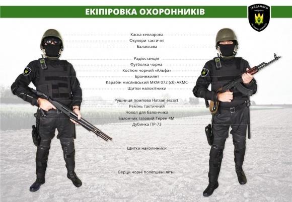 """Фермеры создают вооруженный батальон """"Гайдамаки"""" фото, иллюстрация"""