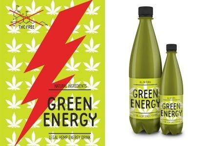 GREEN ENERGY з каннабісом - неймовірний продукт на українському ринку фото, ілюстрація