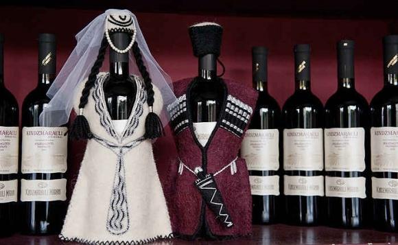 В 2016 году резко вырос экспорт грузинского вина в Украину фото, иллюстрация