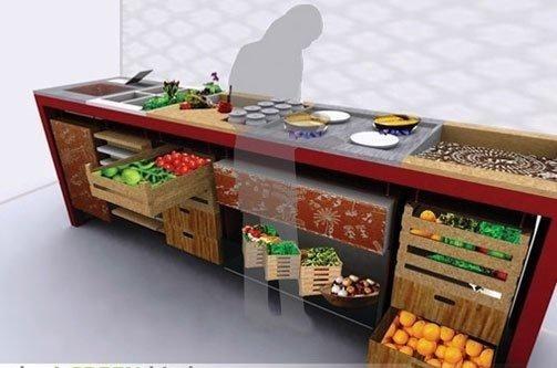 Новий еко тренд - боротьба з холодильником фото, ілюстрація