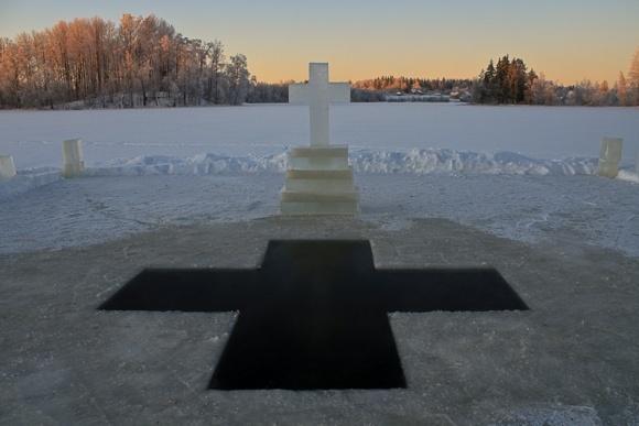 Останнє свято Святок - Водохреще (Відео) фото, ілюстрація
