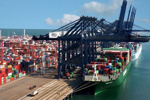 Морський термінал «Євровнєшторг» у порту Ольвія почав роботу відвантаженням кукурудзи фото, ілюстрація