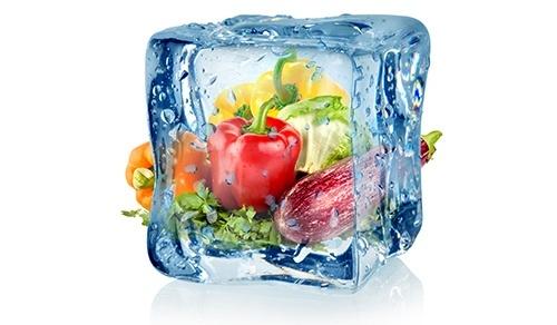Заморожені овочі іноді корисніші за свіжі фото, ілюстрація